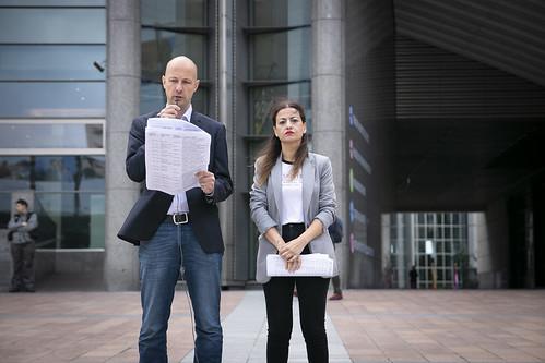 Marc Botenga & Sira Rego