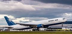 OY-SRU Star Air Boeing 767 (3) (Dennis_Penny) Tags: edinburgh airport