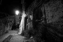 Haunted (lebre.jaime) Tags: portugal beira covilhã architecture house streetphotography street nightphotography digital fx ff fullframe bw blackwhite noiretblanc pb pretobranco ptbw nikon nikkorafs1735f28d affinity affinityphoto
