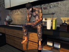 ☠ THOUGHT (Shock Q'Kell) Tags: rkkn secondlife bloggers male pants moda sl