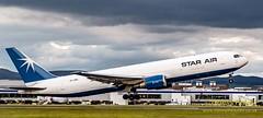 OY-SRU Star Air Boeing 767 (4) (Dennis_Penny) Tags: edinburgh airport