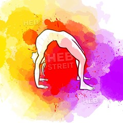 Creative Bridge Yoga Pose (Hebstreits) Tags: arch asana background bend black body bow bridge design draw drawing drawn exercise facing fit fitness flexibility flexible graphic gym hand health healthy icon icons illustration isolated lifestyle line man mobile person pose position practice professional sketch sport stretch thin training upward urdhva urdhvadhanurasana vector wheel white woman workout yoga