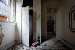 Closeted skeletons. (Caroleyene) Tags: abandoned ut broadwayhotel utah tooele closet dilapidated