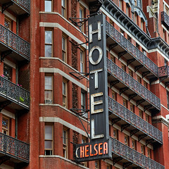 The Chelsea Hotel, NYC (James and Karla Murray Photography) Tags: sign neon neonsign chelseahotel jamesandkarla