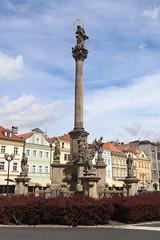 Słup morowy (magro_kr) Tags: hradeckrálové hradeckralove czechy czechrepublic českárepublika ceskarepublika kolumna rzeźba rzezba pomnik statua column statue sculpture