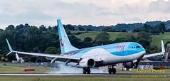 G-FDZT TUI Boeing 737 (2) (Dennis_Penny) Tags: edinburgh airport