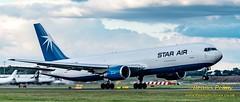 OY-SRU Star Air Boeing 767 (2) (Dennis_Penny) Tags: edinburgh airport