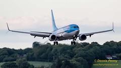G-FDZT TUI Boeing 737 (1) (Dennis_Penny) Tags: edinburgh airport