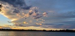 June 19, 2019 - Cool clouds as the day ends. (David Canfield)