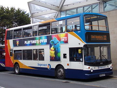 Stagecoach TransBus Trident (TransBus ALX400) 18190 MX54 LPV (Alex S. Transport Photography) Tags: bus outdoor road vehicle stagecoach stagecoachmidlandred stagecoachmidlands alx400 alexanderalx400 dennistrident trident route12 transbustrident transbusalx400 18190 mx54lpv