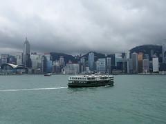 201905254 Hong Kong Admiralty, Wan Chai and Star Ferry (taigatrommelchen) Tags: 20190522 china hongkong admiralty wanchai sight icon urban clouds ocean harbour ship onboard city skyline