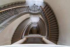 Treppen TU Berlin (Frank Guschmann) Tags: tuberlin treppe treppenhaus staircase stairwell escaliers architektur stairs stufen steps frankguschmann nikond500 nikon