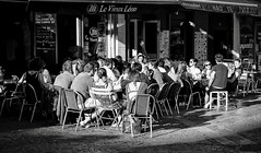 The Wave (paulshappirio) Tags: france street cafes people