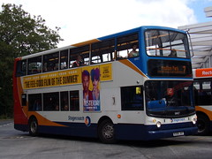 Stagecoach ADL Trident (ADL ALX400) 18407 KX06 JXY (Alex S. Transport Photography) Tags: bus outdoor road vehicle stagecoach stagecoachmidlandred stagecoachmidlands alx400 alexanderalx400 dennistrident trident adltrident adlalx400 route7 18407 kx06jxy