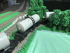 BSBT19 - tanker cars on their way to refinery [looking for the author] (Maciej Drwięga) Tags: bsbt19 pkp lego schkeuditz train