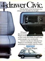 1984 Honda Civic Wagon Page 2 USA Original Magazine Advertisement (Darren Marlow) Tags: 1 4 8 9 19 84 1984 h honda ccivic w wagon car cool collectible collectors classic a automobile v vehicle j jap japan japanese asian asia 80s