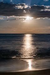 Moonlight Seascape (Merrillie) Tags: night moonlight milkyway starry astrophotography australia nighttime newsouthwales pearlbeach astrology starlight beach galacticcore centralcoast coastal northpearlbeach nightsky seascape nightscape starlit stars galaxy