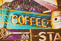 She Said I Cannot Tell You Why (Thomas Hawk) Tags: america bluemountaincoffee cheyenne sanfords sanfordsgrubpub usa unitedstatesofamerica unitedstates wyoming coffee neon neonsign restaurant fav10