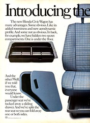 1984 Honda Civic Wagon Page 1 USA Original Magazine Advertisement (Darren Marlow) Tags: 1 4 8 9 19 84 1984 h honda ccivic w wagon car cool collectible collectors classic a automobile v vehicle j jap japan japanese asian asia 80s
