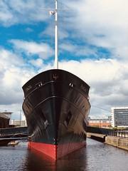 fullsizeoutput_1157 (ianharrywebb) Tags: iansdigitalphotos leith scotland edinburgh fingal ship statue firthofforth