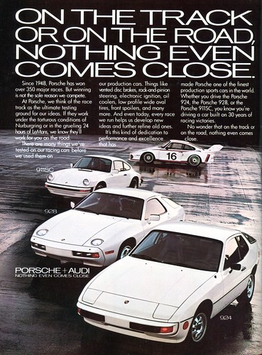 1978 Porsche Advertising Playboy December 1978