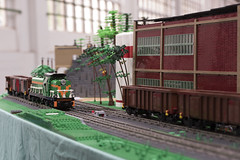 BSBT19 - SM42 and ST43 - shunting - on the Bergwerk (by Pelle) (Maciej Drwięga) Tags: bsbt19 pkp lego schkeuditz train
