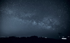Blue starry sky (O. Heda) Tags: star starry sky milky way