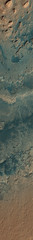 Gale Crater with Curiosity 1 (sjrankin) Tags: 20june2019 edited nasa mars msl curiosity galecrater tracks sand rocks mro marsreconnaissanceorbiter esp0536001750 sanddunes rgb