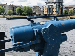 fullsizeoutput_1154 (ianharrywebb) Tags: iansdigitalphotos leith scotland edinburgh whalegun statue firthofforth