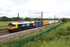 Nice and frothy (Dan-Piercy) Tags: gbrf largelogo blue 66789 chalonerswhin askhambar 4d08 teesdock doncaster iport boxes intermodel ecml