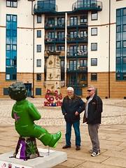 fullsizeoutput_1158 (ianharrywebb) Tags: iansdigitalphotos leith scotland edinburgh oorwillieart abstract statue firthofforth