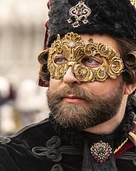 SON01329cropadj (Charlie Jobson) Tags: venice venezia carnevale people costume portrait colour masks