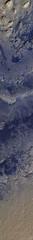 Gale Crater with Curiosity 2 (sjrankin) Tags: 20june2019 edited nasa mars msl curiosity galecrater tracks sand rocks mro marsreconnaissanceorbiter esp0536001750 ir infrared irb sanddunes