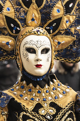 SON01416cropadj (Charlie Jobson) Tags: venice venezia carnevale people costume portrait colour masks