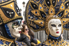 SON01414cropadj (Charlie Jobson) Tags: venice venezia carnevale people costume portrait colour masks
