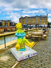 Oor Willie (ianharrywebb) Tags: iansdigitalphotos leith scotland edinburgh oorwillieart abstract statue firthofforth