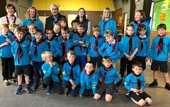 Visiting North Berwick beavers for Scout Scotland Youth Award