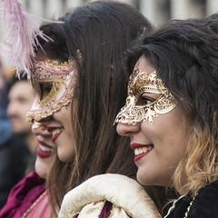 SON01464cropadj (Charlie Jobson) Tags: venice venezia carnevale people costume portrait colour masks