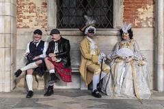 SON01355cropadj (Charlie Jobson) Tags: venice venezia carnevale people costume portrait colour masks