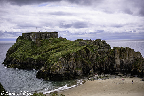 St Catherine's Island, Tenby, Pembrokeshire, Wales, UK