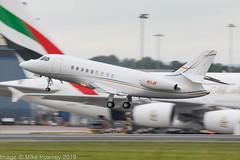 N1JK - 2007 build Dassault Falcon Falcon 2000EX, evening departure on Runway 23R at Manchester (egcc) Tags: 130 bizjet dassault easy egcc falcon falcon2000 falcon2000ex lightroom man manchester n1jk pegasussouth ringway