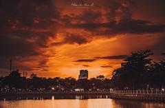 Last sun (Bruce Nguyen (vukmaster)) Tags: landscape mood vietnam sunset cloud