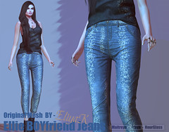 Eliya.K - Ellie Boyfriend jeans (eliyakay) Tags: secondlife sl boyfriendjeans jean fashion femalefashion modeling styling originalmesh glitter maitreya freya hourglass dubai event