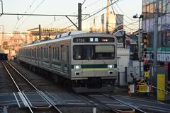 tokyo7841 (tanayan) Tags: train railway tokyu 東急 japan nikon v3 tokyo shinagawa hatanodai oimachi 品川 旗の台 大井町線 東京