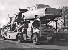 Dodge V8: Van Isle (PAcarhauler) Tags: dodge carcarrier semi truck tractor trailer