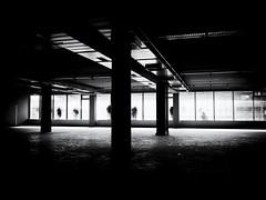 Ghosts (Sandy...J) Tags: atmosphere atmosphäre monochrom mono mood street streetphotography sw schwarzweis strasenfotografie stadt silhouette shadow sunlight stimmung station city noir olympus urban light darkness contrast photography people fotografie germany deutschland architektur architecture