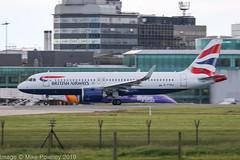 G-TTNJ - 2019 build Airbus A320-251N, evening departure on Runway 23R at Manchester (egcc) Tags: 8772 a320 a320251 a320251n a320neo airbus ba baw britishairways egcc gttnj lightroom man manchester ringway sharklets