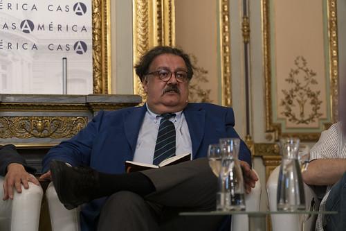 Jorge F. Hernández, agregado cultural de México en España y director del Instituto de México en Madrid