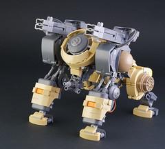 "Lego Mecha Beast ""B. B. Kong"" (guitar hero78) Tags: afol lego legomoc legomech mech moc fujifilm xe1 toys toyphotography"