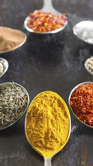 colori (timexzy123) Tags: food color colors israel colorful chili colours background cook spices aromatic assortment circular spoons aroma allspice cooking season recipe pepper mix different flavor indian spice group curry powder coriander cumin paprika herb position seasoning saffron nutmeg ingredient wood summer vintage spoon spicy various